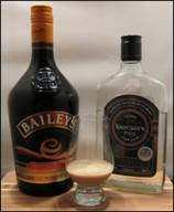 Bailey's & the whey-based Knockeen Hills Extra-Gold Poteen