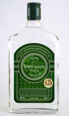 60% Vol Irish Poteen