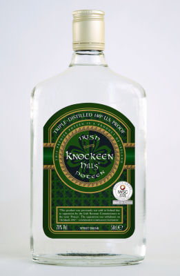 70% Vol. Irish Poteen
